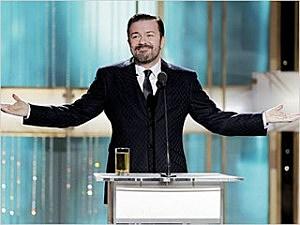 Golden Globes Gervais