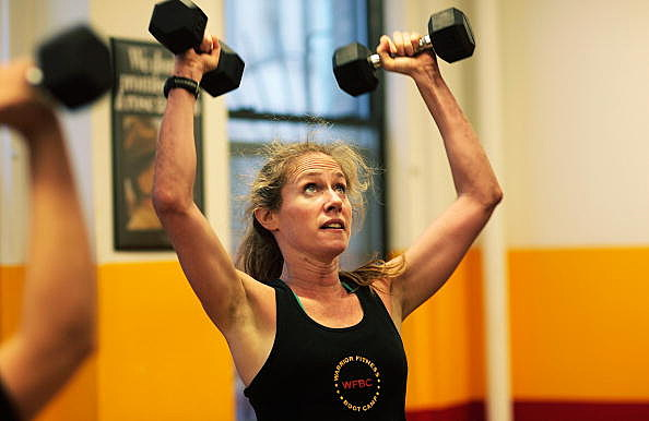 """Former Marines Get New Yorkers In Shape With """"Warrior Fitness"""" Class"""