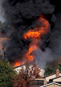 House Found With Large Cache Of Homemade Explosives Burned To Dispose Of Materials