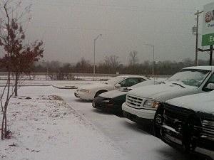 Shreveport Snow