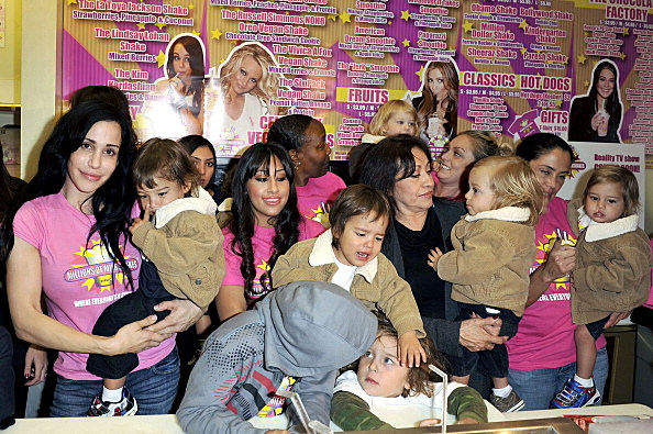 Octomom Nadya Suleman & Her 14 Children