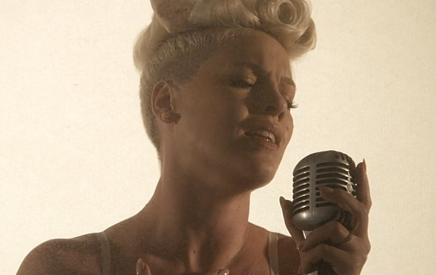 pink just give me a reason video