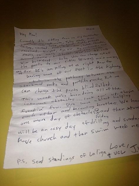 JW letter
