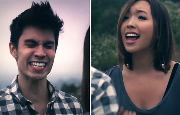 sam tsui kylee just give me a reason cover