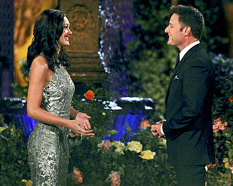 Des and Chris Harrison