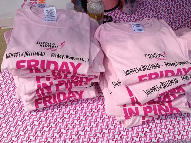friday in pink tshirts