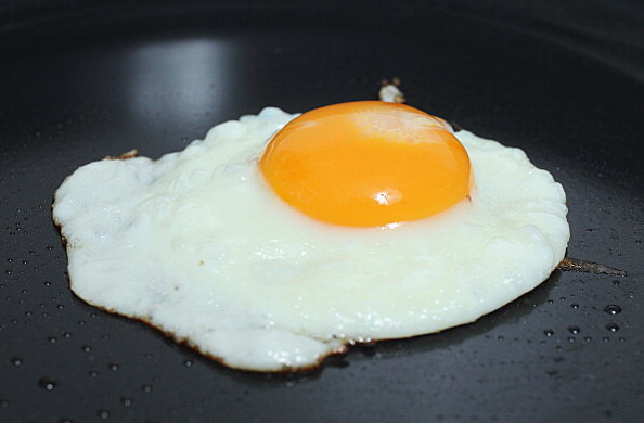 Egg frying