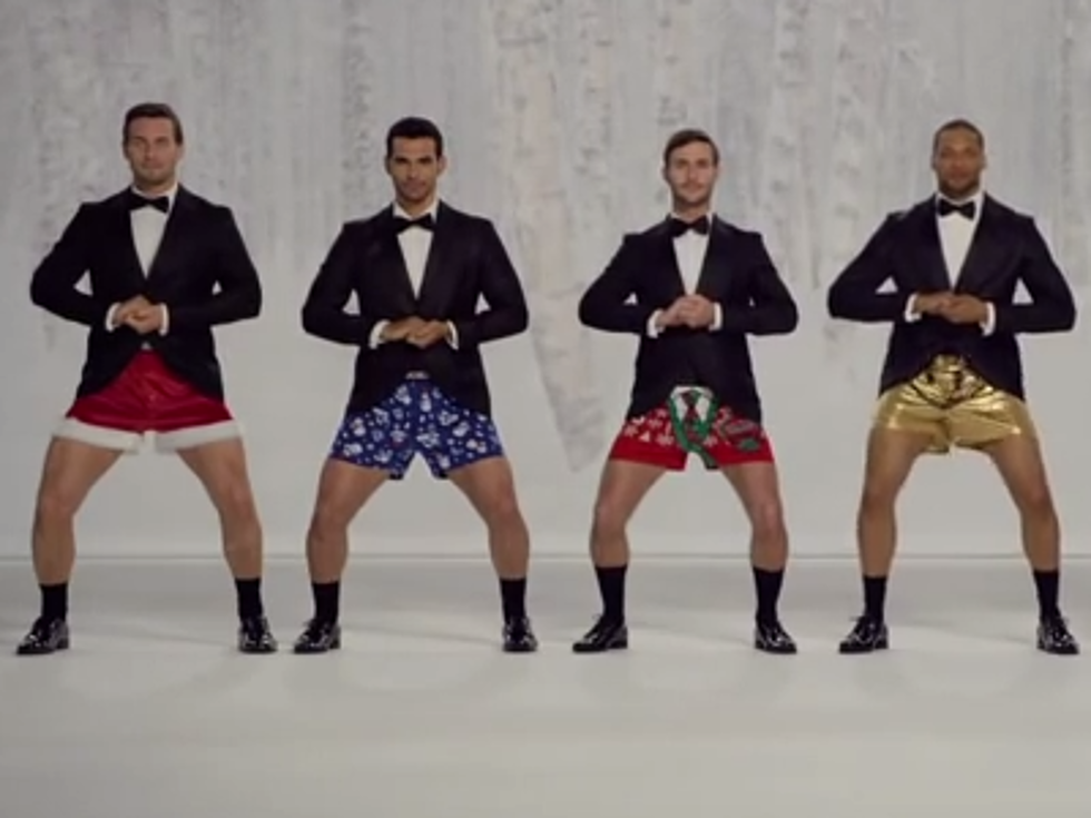 The Kmart Christmas Men\'s Underwear Ad Every Woman Will Love