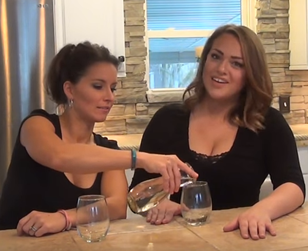 The latest party trend helium infused wine video