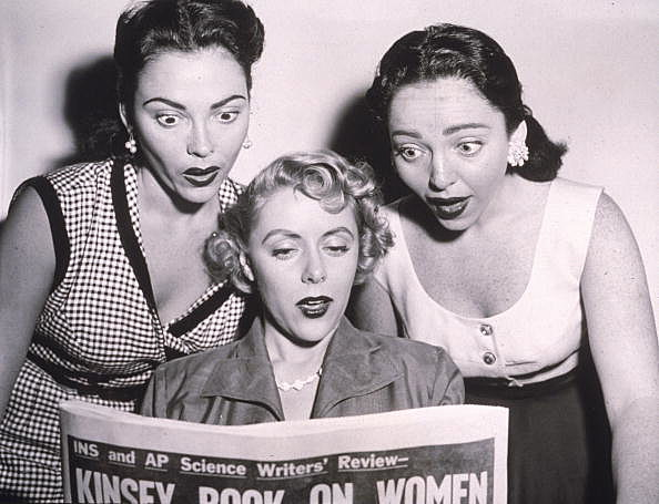 Three Women Read Kinsey Article