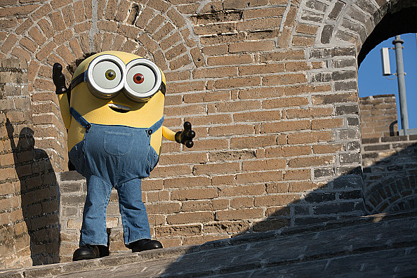 The Minions Visit The Great Wall